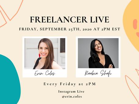 Freelancer Live with Raabia Shafi