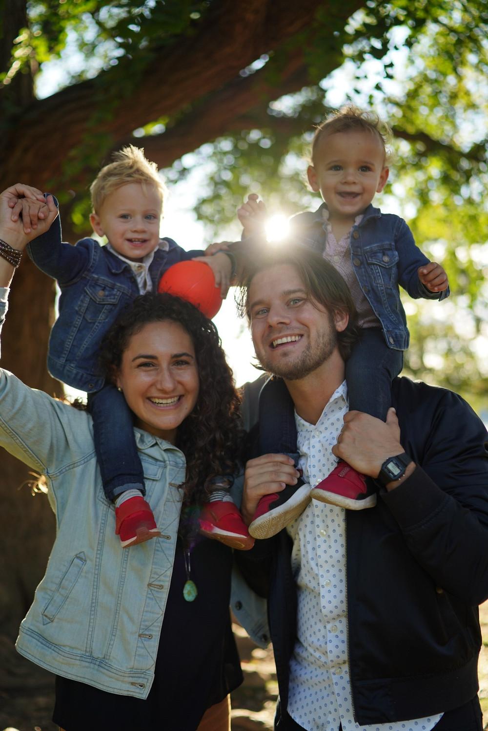 Stacy, Tim, Benji, and Jet