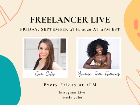 Freelancer Live with Youmie Jean Francois