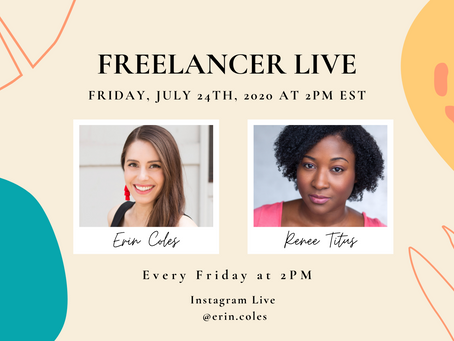Freelancer Live with Renee Titus
