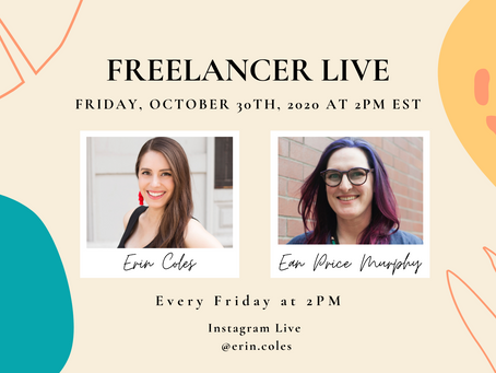 Freelancer Live with Ean Price Murphy
