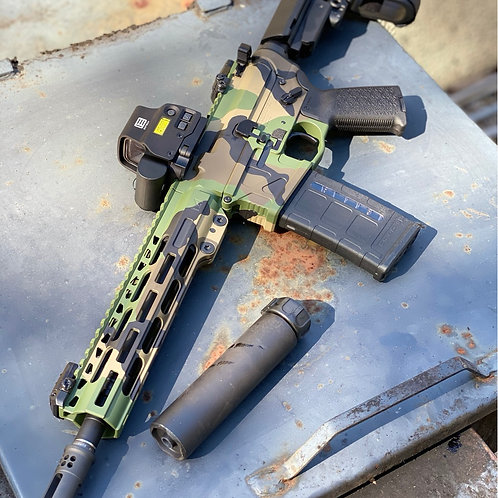 American Defense Mfg Limited Edition Woodland UIC15 Pistols