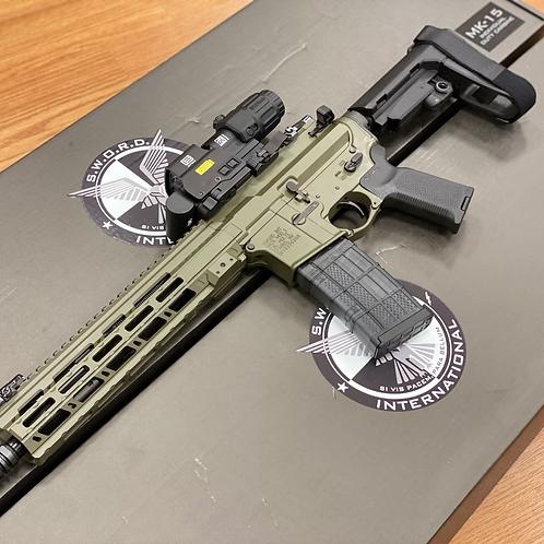 Sword International Purg Pistol OD 5.56 11.5in
