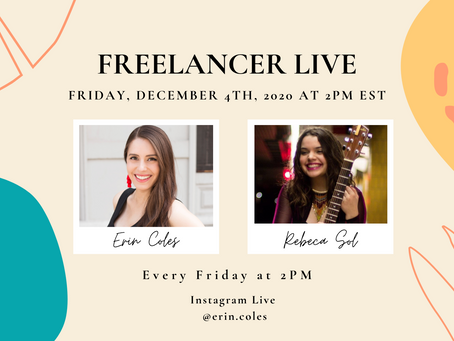 Freelancer Live with Rebeca Sol