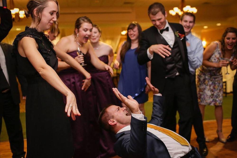 Dancing at Katie and Scott's Wedding