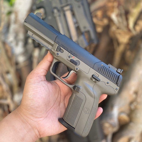 FN Five Seven in OD Green - RARE