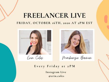 Freelancer Live with Mackenzie Barmen