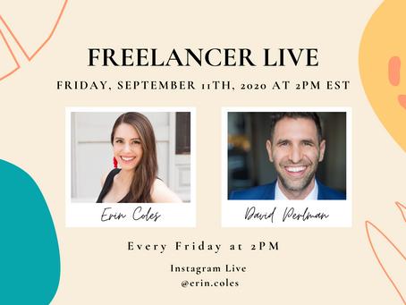 Freelancer Live with David Perlman