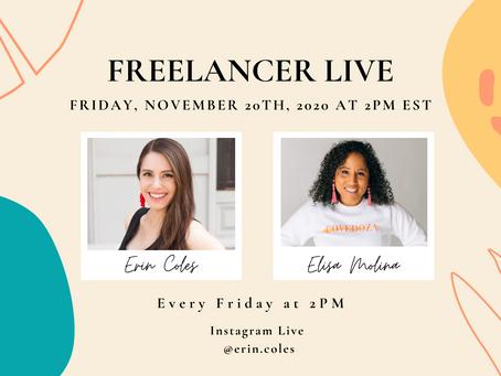 Freelancer Live with Elisa Molina