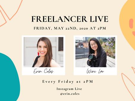Freelancer Live with Wini Lao