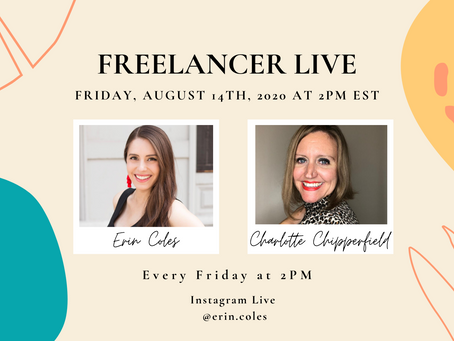 Freelancer Live with Charlotte Chipperfield