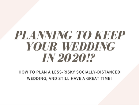 COVID Wedding Planning Guide