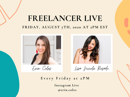 Freelancer Live with Lisa Nicole Rosado