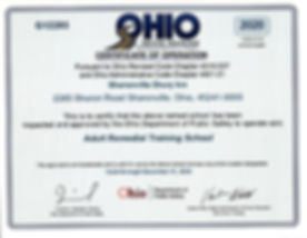 2020 Sharonville Remedial Certificate.jp