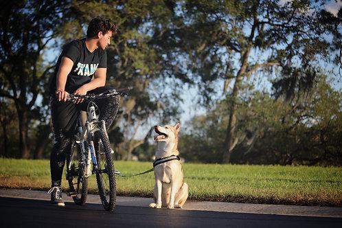 Dog Biking Leash Complete Kit