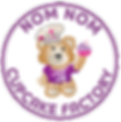 Nom Nom Cupcake Factory Logo