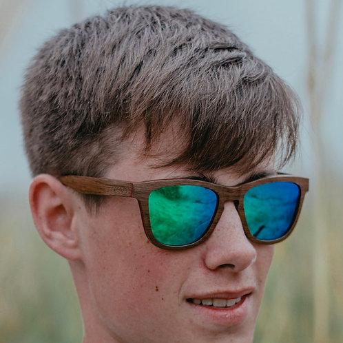 Polarized Sunglasses -Walnut