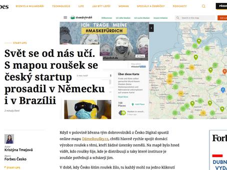 Wirtschaftsmagazin Forbes berichtet über unsere deutsch-tschechische Kooperation