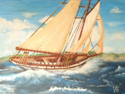 Il mare, il vento, le vele...io