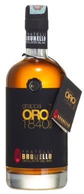 GRAPPA ORO 1840 – Invecchiata - Distillieria Brunello