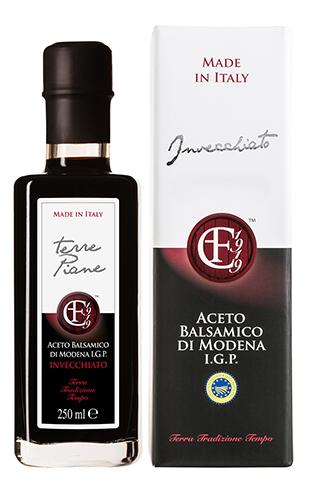 Aceto Balsamico Invecchiato TERRE PIANE 250mL - Acetaia Cazzola e Fiorini