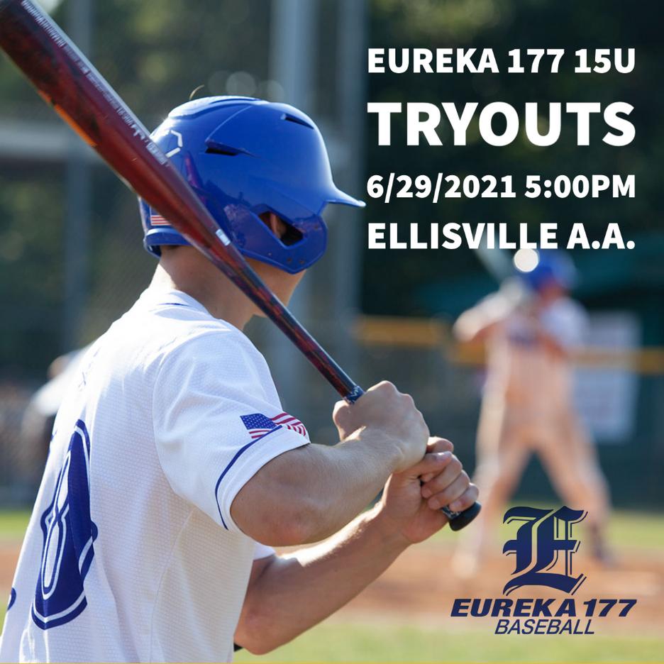 Eureka 177 TRYOUTS - 15U (2021-2022) Freshman
