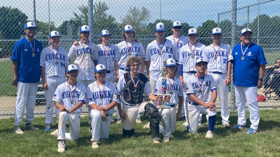 Eureka 177 Freshman win Memorial Day Tournament