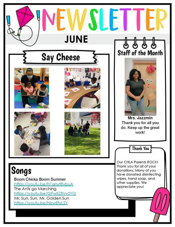 June Newsletter pg 2
