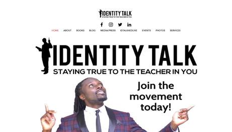 INDENTITY TALK FOR EDUCATORS