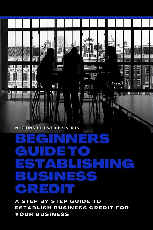 BEGINNERS GUIDE TO BUILD BUSINESS CREDIT (E-BOOK)