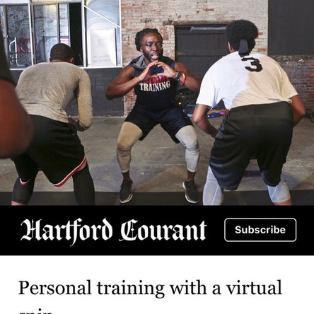September Edition of the Hartford Courant