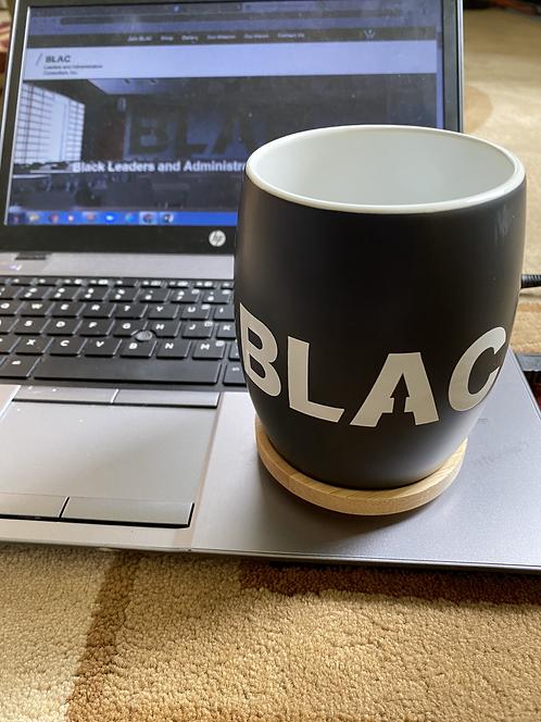 Mug (Black w/White Lettering)