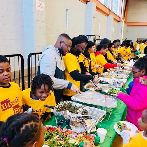 Breaking Bread & Build Community Feast