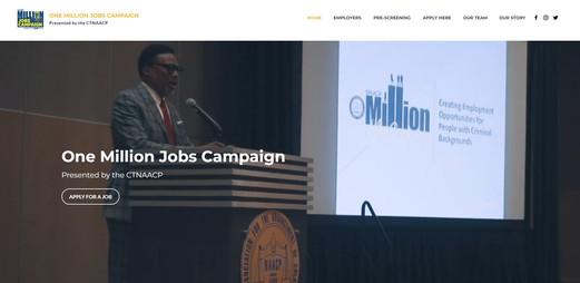 MILLION JOBS CAMPAIGN