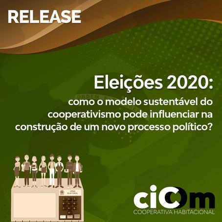Eleições 2020: como o modelo sustentável do cooperativismo pode influenciar na construção de um novo