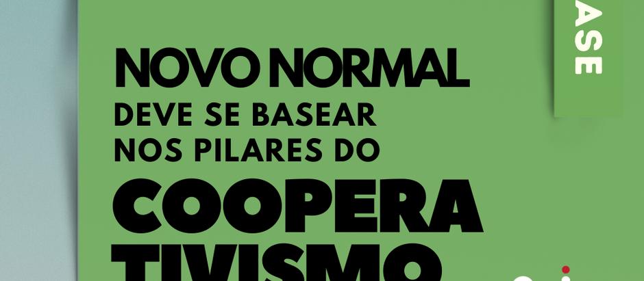 Novo normal deve se basear nos pilares do cooperativismo