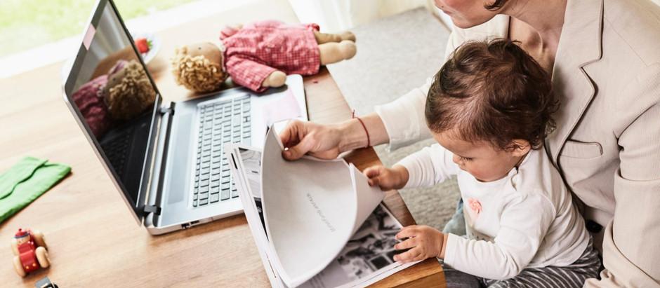 Deixe com elas: carreira e maternidade em pé de igualdade