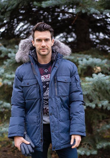 Blue winter jacket Pajar