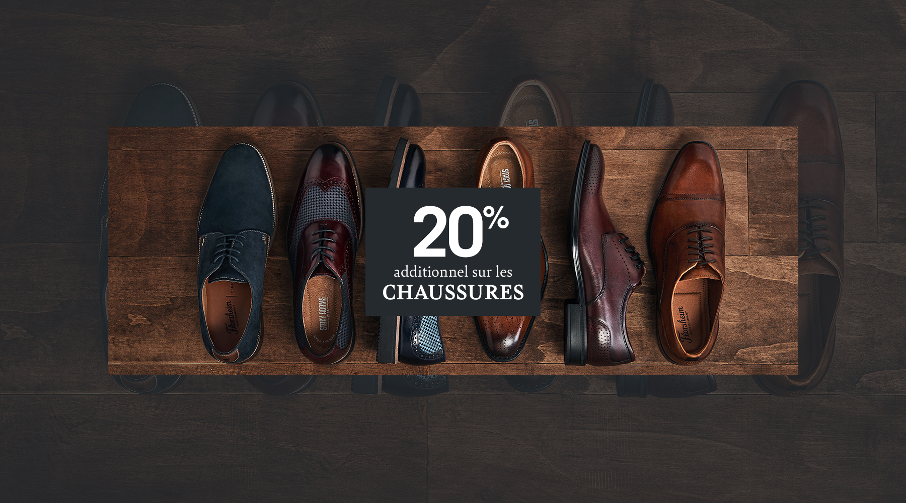 20% Chaussures