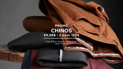 Chinos Anthony of London