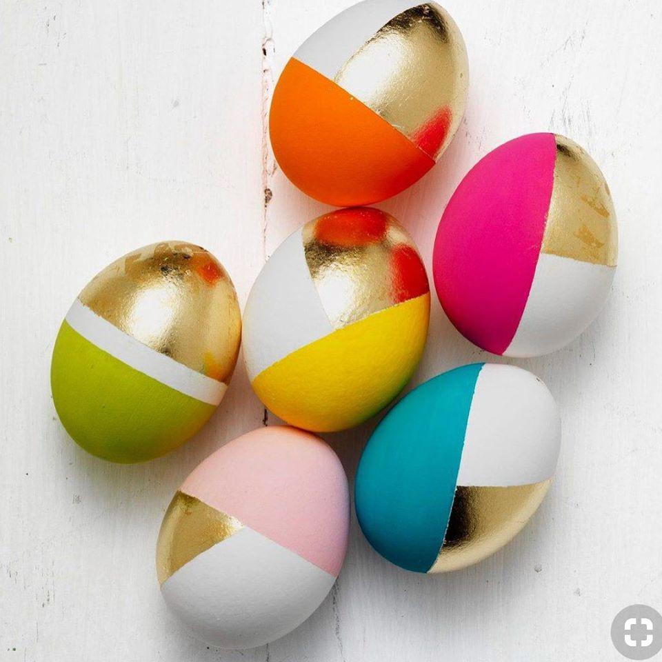 Гламурные пасхальные яйца