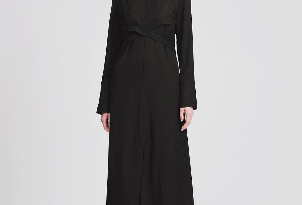 Back Snapped Corset Dress