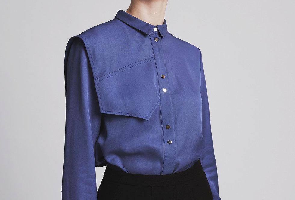 Asymmetric Shouder  Shirt
