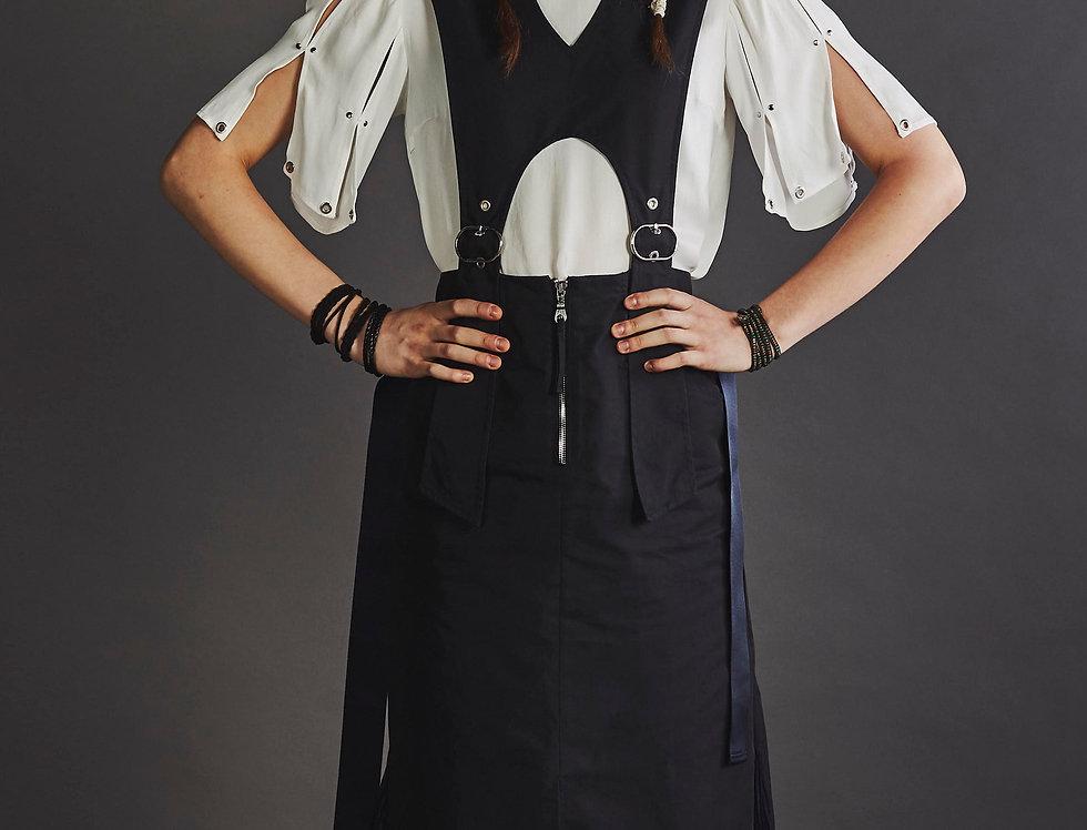 2 Ways Belted Dress