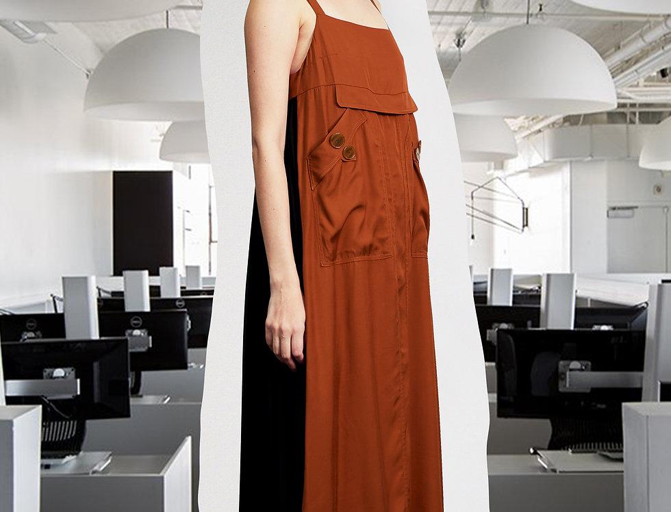 Premium Pleating Slip Dress