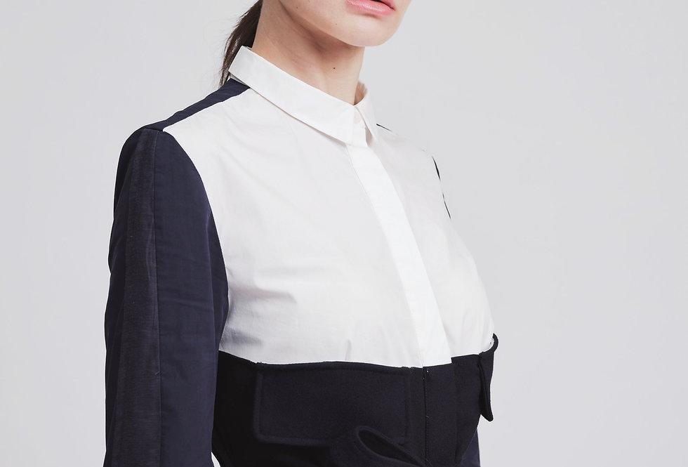 Corset Shirt Dress