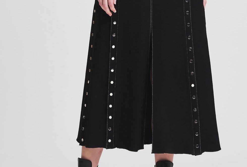 Snapped Slit Skirt