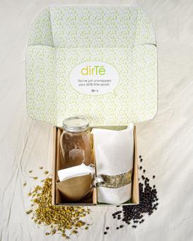 Dirte herbal tea box