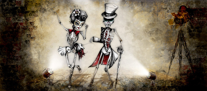Cartoon Gothik series, commissioned by James Seymour Brett