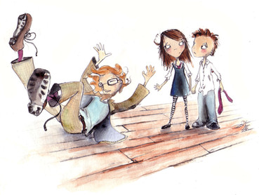 From 'Our Teacher's a Troll', Author Dennis Kelly, Publisher National Theatre of Scotland